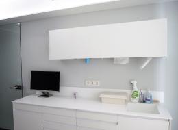 encimera mobiliario clinico Krion
