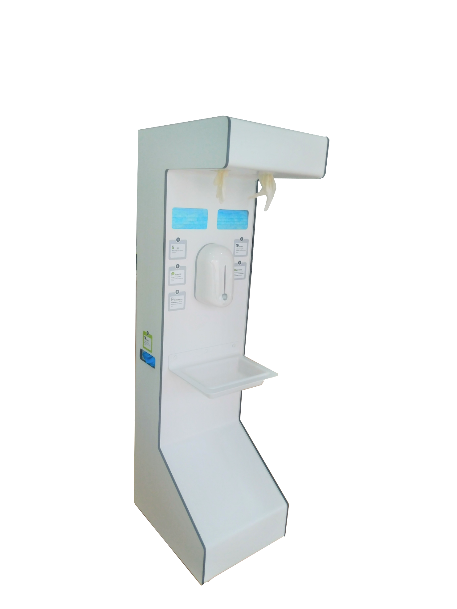 estacion higiene covid19