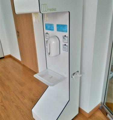 estación de higiene mediss